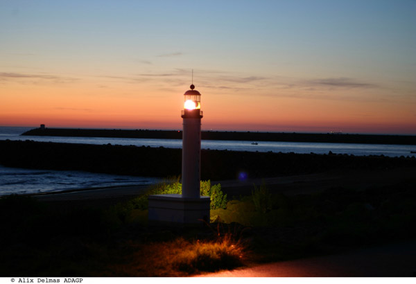 Le phare d'Anglet